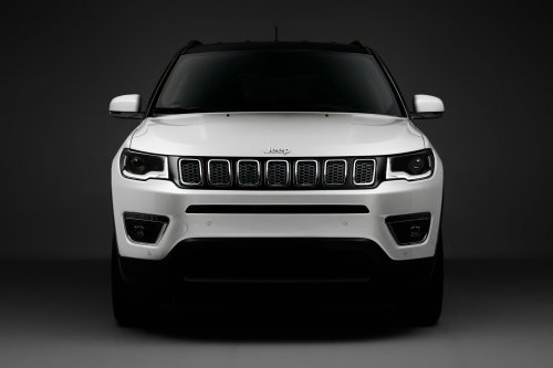 JEEP compass, Studioshot, white
